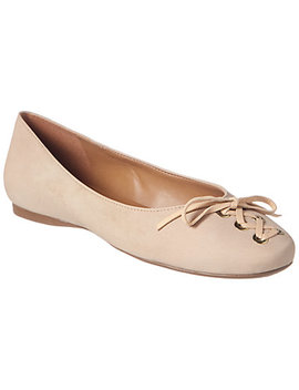 French Sole Sangria Suede Flat by French Sole