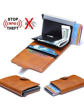 Men's Leather Slim Money Clip Front Pocket Wallet Thin New Holder Credit Card Business Card Holders Cardpackage by Wish