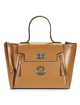 Camilla Leather Tote by Valentino By Mario Valentino