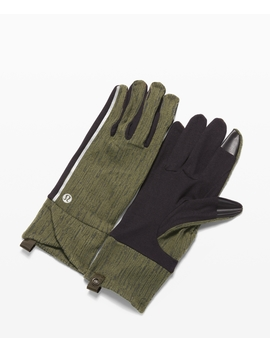 Cross Chill Run Gloves by Lululemon
