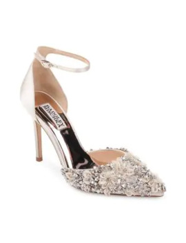 Fey Satin D'orsay Pumps by Badgley Mischka