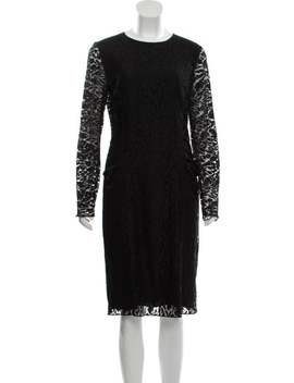Lace Midi Dress by Nina Ricci