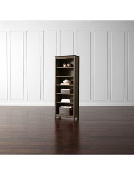Ainsworth Walnut Bookcase by Crate&Barrel