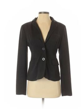 Ambiance Apparel Women Gray Blazer M by Ambiance Apparel