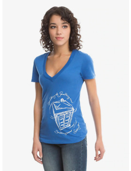 Doctor Who Something Blue T Shirt by Her Universe