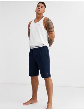 Farah Kielder Lounge Shorts In Navy by Farah