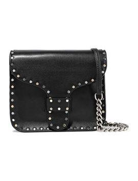 Studded Leather Shoulder Bag by Rebecca Minkoff