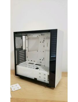Nzxt S340 Elite Ca S340 W W2 Matte White Tempered Glass Side Panel Pc Case by Nzxt