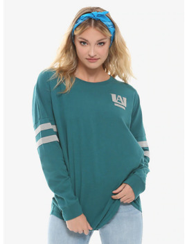 My Hero Academia Teal Girls Athletic Jersey by Hot Topic