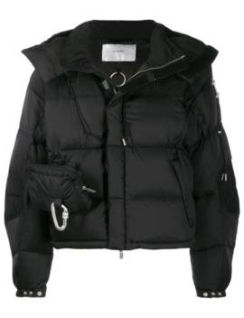 Belt Bag Puffer Jacket by Heliot Emil