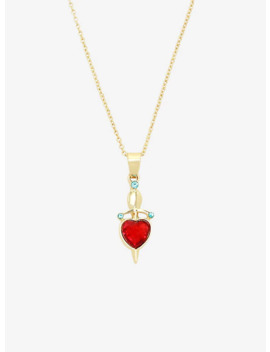 Disney Villains Evil Queen Dagger Heart Necklace by Hot Topic