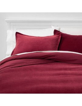 solid-velvet-duvet-cover-set---threshold by shop-this-collection