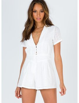 Brylie Playsuit by Princess Polly