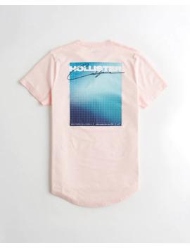 Camiseta Con Estampa Del Logo by Hollister