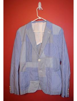 Comme Des Garçon Homme Patchwork Blazer Size Medium Last Drop by Comme Des Garcons Homme Plus  ×