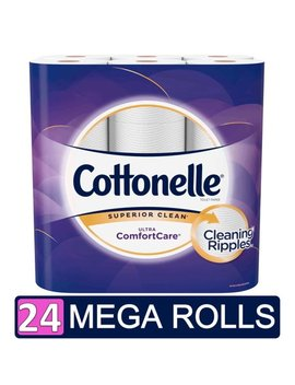 Cottonelle Ultra Comfort Care Toilet Paper, 24 Mega Rolls (=96 Regular Rolls) by Cottonelle