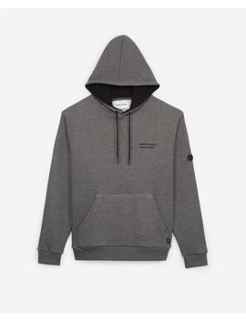 Light Grey Sweatshirt In Cotton by The Kooples