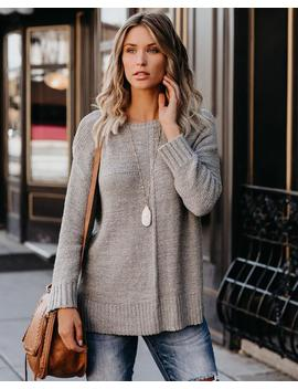 cute-as-a-button-knit-sweater---grey by vici