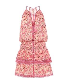 Kimi Floral Cotton Minidress by Poupette St Barth