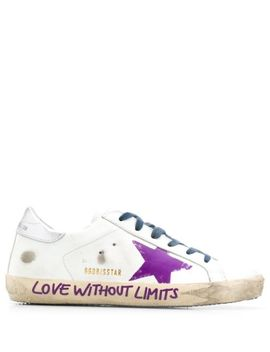 Superstar Graffiti Sneakers by Golden Goose