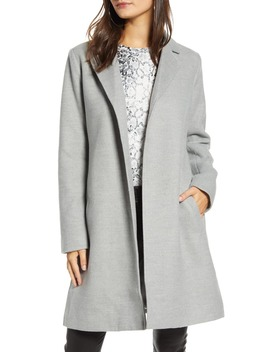By Bb Dakota Keep Your Secrets Melton Belted Coat by Jack