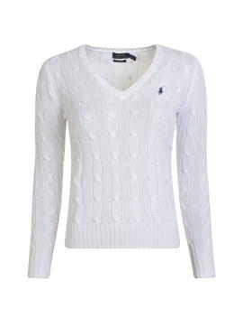 Cable Cotton Knit Jumper by Polo Ralph Lauren
