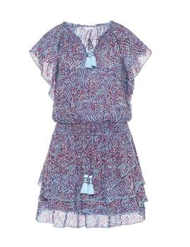 Elsa Printed Minidress by Poupette St Barth