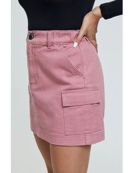 Pac Sun Elastic Cargo Skirt by Pacsun