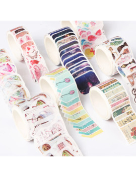 12style 80 Pcs Fresh Fireworks Stamp Decoration Washi Tape Diy Diary Scrapbooking Masking Tape Stickers by Ali Express.Com