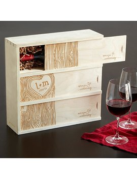Anniversary Wine Box by Uncommon Goods