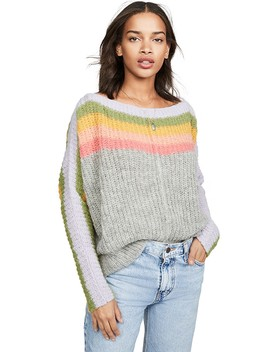 See The Rainbow Sweater by Free People