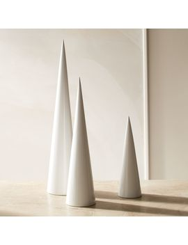 Surrey Lacquer Trees Set Of 3 by Crate&Barrel