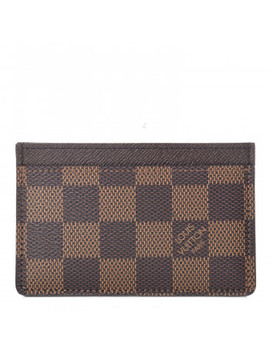 Louis Vuitton Damier Ebene Card Holder by Louis Vuitton
