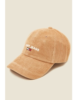 Sport Cap Corduroy Tiger's Eye by Tommy Jeans