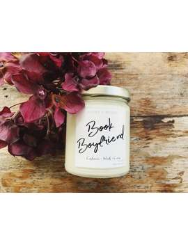 Book Boyfriend   Natural Soy Candle by Etsy