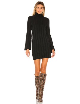 Taytay Sweater Dress In Black by Lovers + Friends