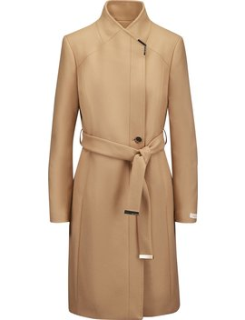 Long Belted Wrap Coat   Women's by Ted Baker