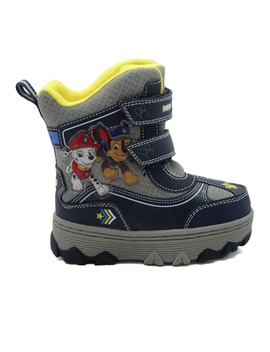 Paw Patrol Chase And Marshall Toddler Boy's Winter Snow Boots Ch17346 O by Josmo
