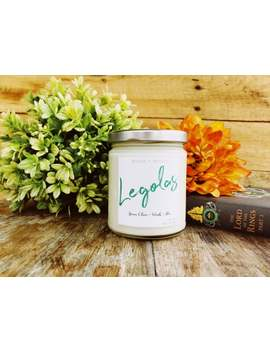 Legolas   Lord Of The Rings Inspired Natural Soy Candle by Etsy
