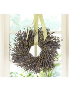 Dried Lavender Wreath by Pottery Barn