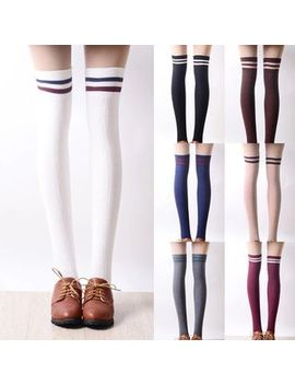 Nikiki   Striped Trim Stockings by Nikiki
