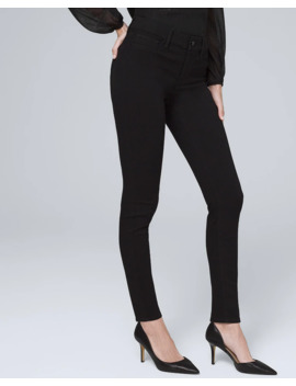 Mid Rise Super Skinny Jeggings by Whbm