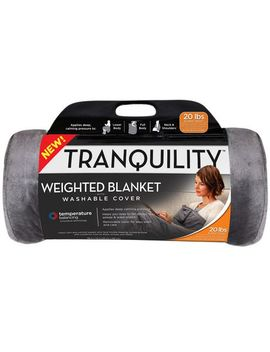 Tranquility Weighted Blanket W/ Washable Cover by Walmart
