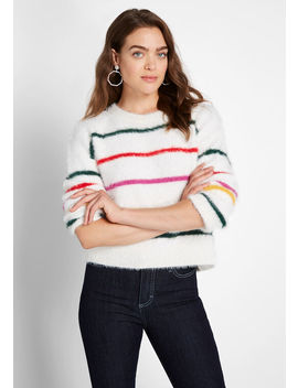 Gotta Feeling Chenille Sweater by Modcloth