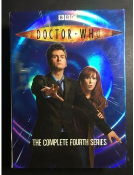Doctor Who The Complete Fourth Series  David Tennant Dvd Australia Region 4 by Ebay Seller