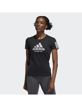 Run It Badge Of Sport Tee by Adidas