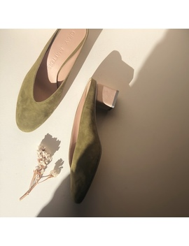 Gray Matters Mildred Mules   Moss   Exclusive by Garmentory