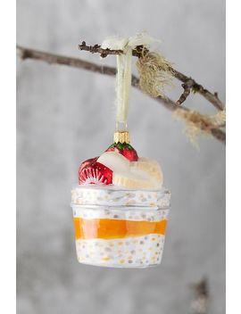 Overnight Oats Glass Ornament by Anthropologie