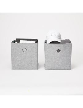 Standard Collapsible Storage Cubes   Set Of 2 by Dormify