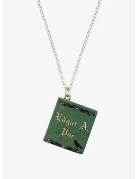 Banned Books Edgar Allen Poe Pendant Necklace by Hot Topic